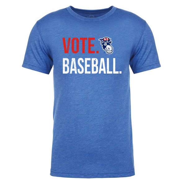 New Hampshire Fisher Cats Vote Baseball Blue