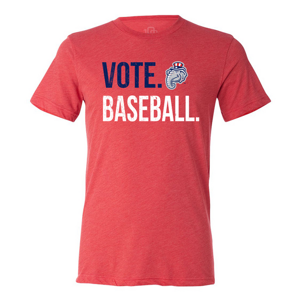 New Hampshire Fisher Cats Vote Baseball Red