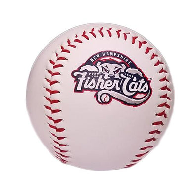New Hampshire Fisher Cats Full Logo Baseball