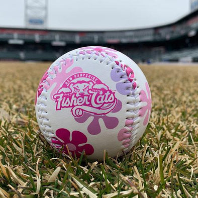 New Hampshire Fisher Cats Flower Baseball
