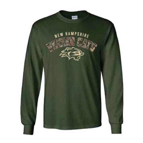New Hampshire Fisher Cats Mossy Oak Long Sleeve