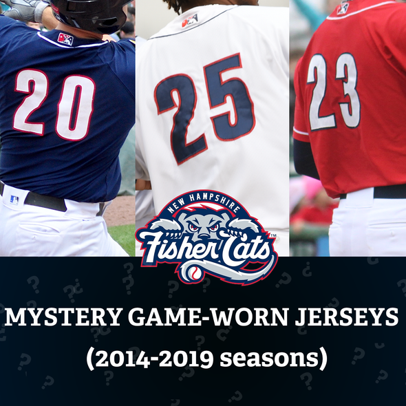 New Hampshire Fisher Cats Mystery Jersey