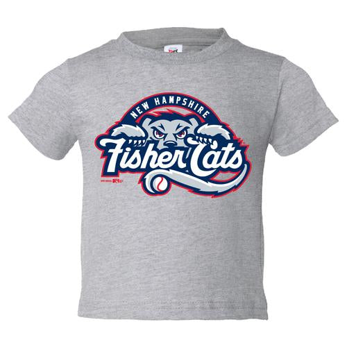 New Hampshire Fisher Cats Toddler Primary Logo Tee