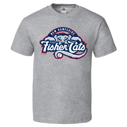 New Hampshire Fisher Cats Youth Primary Logo Tee
