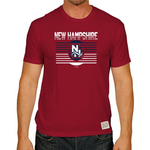 New Hampshire Fisher Cats Blurred Lines Tee
