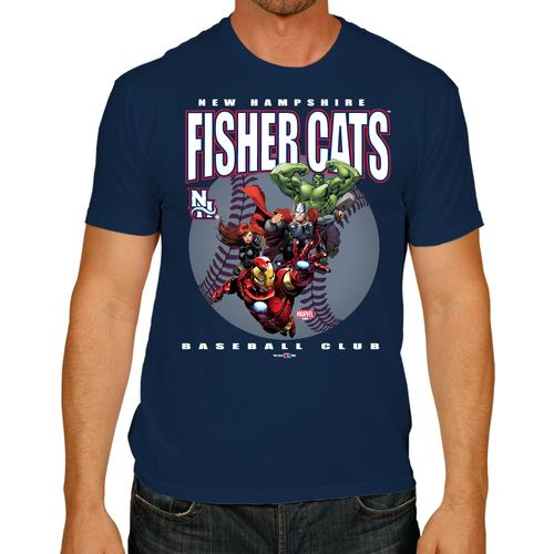 New Hampshire Fisher Cats Marvel Squad