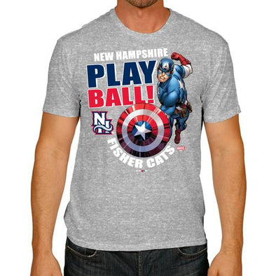New Hampshire Fisher Cats Captain America