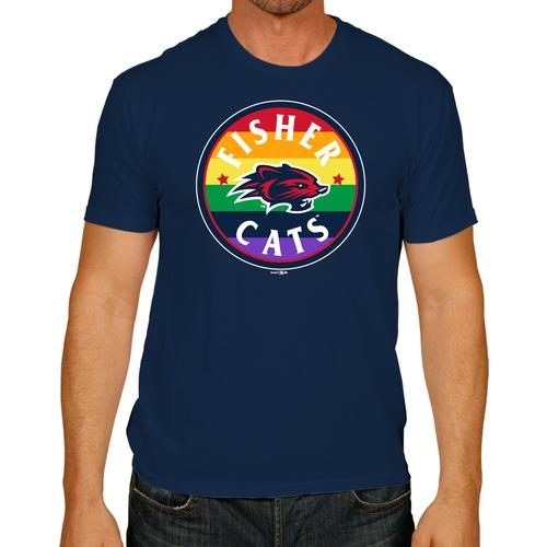 New Hampshire Fisher Cats Pride Tee