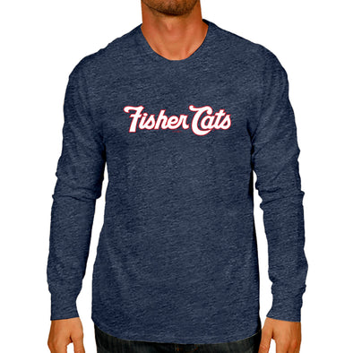 New Hampshire Fisher Cats Wordmark Long Sleeve