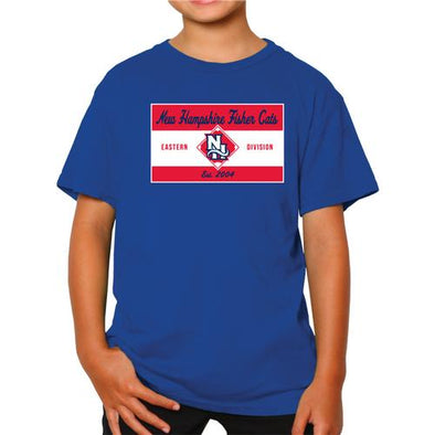 New Hampshire Fisher Cats Youth Poly Tee