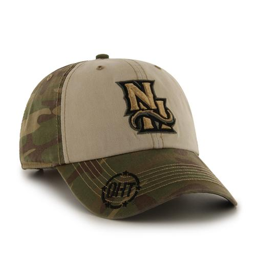 New Hampshire Fisher Cats Camo Gordie Clean Up