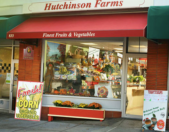 Hutchinson Farms store front Scarsdale, New York
