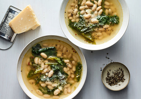 WHITE BEAN- SWISS CHARD