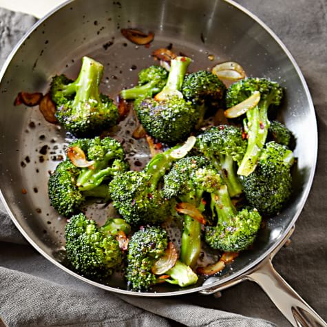 BROCCOLI- GARLICKY