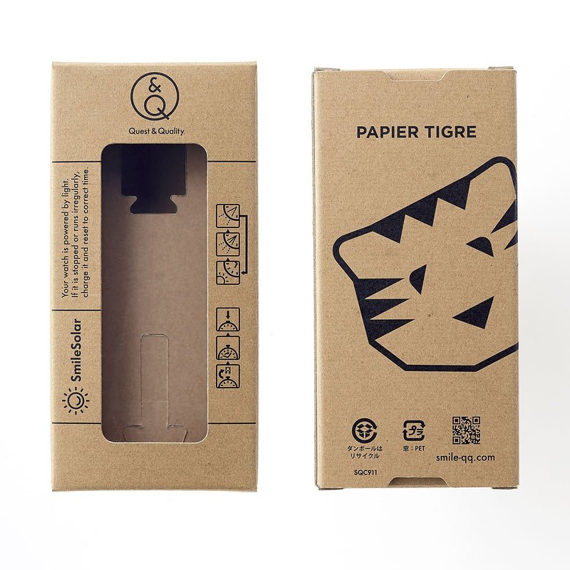 PAPIER TIGRE Collaboration watch ETUDIANT【S】Special Set