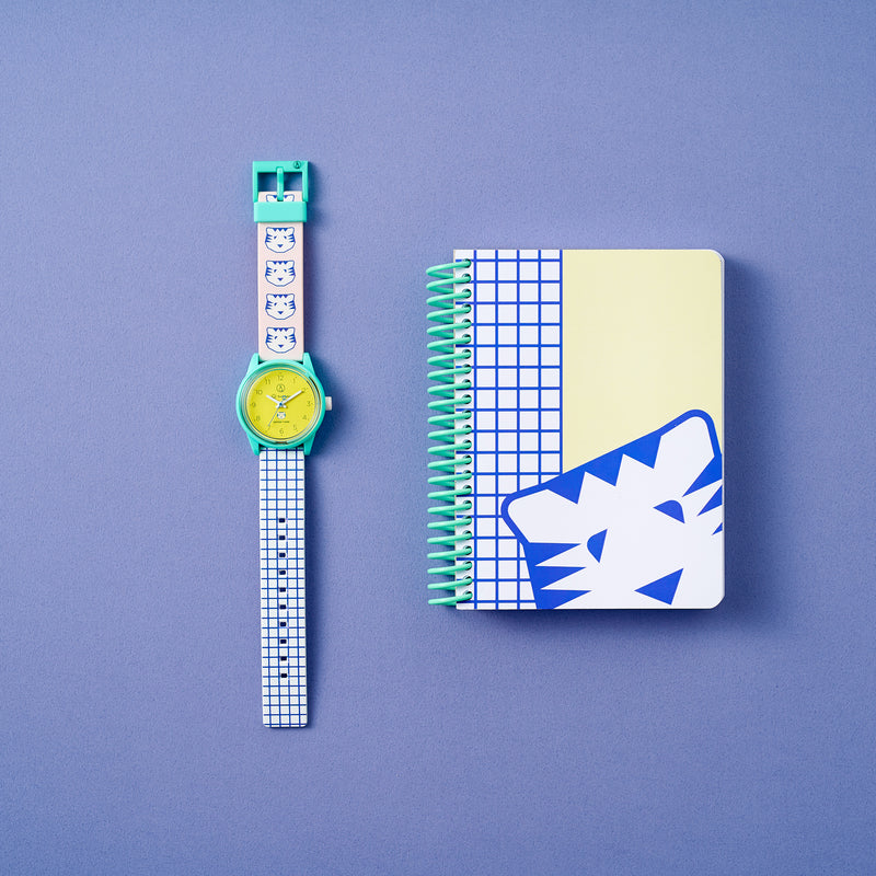 PAPIER TIGRE Collaboration watch TIGRE [M] Special Set