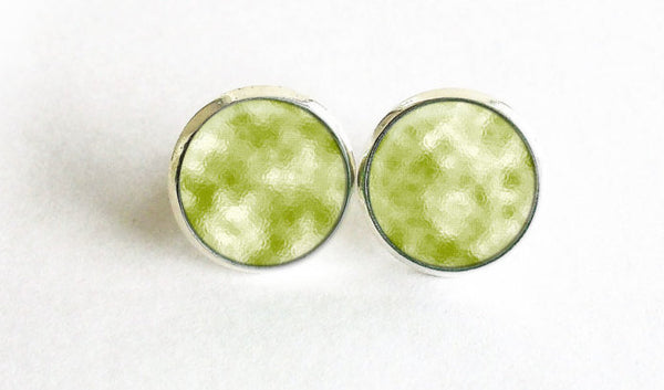 Misty Green Studs,Little Green Earrings, Little Misty Green post Earrings,Little Green Studs,Green studs, Green earrings, Gift for women