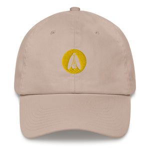 Embroidered Logo Dad Hat - BeeHairy