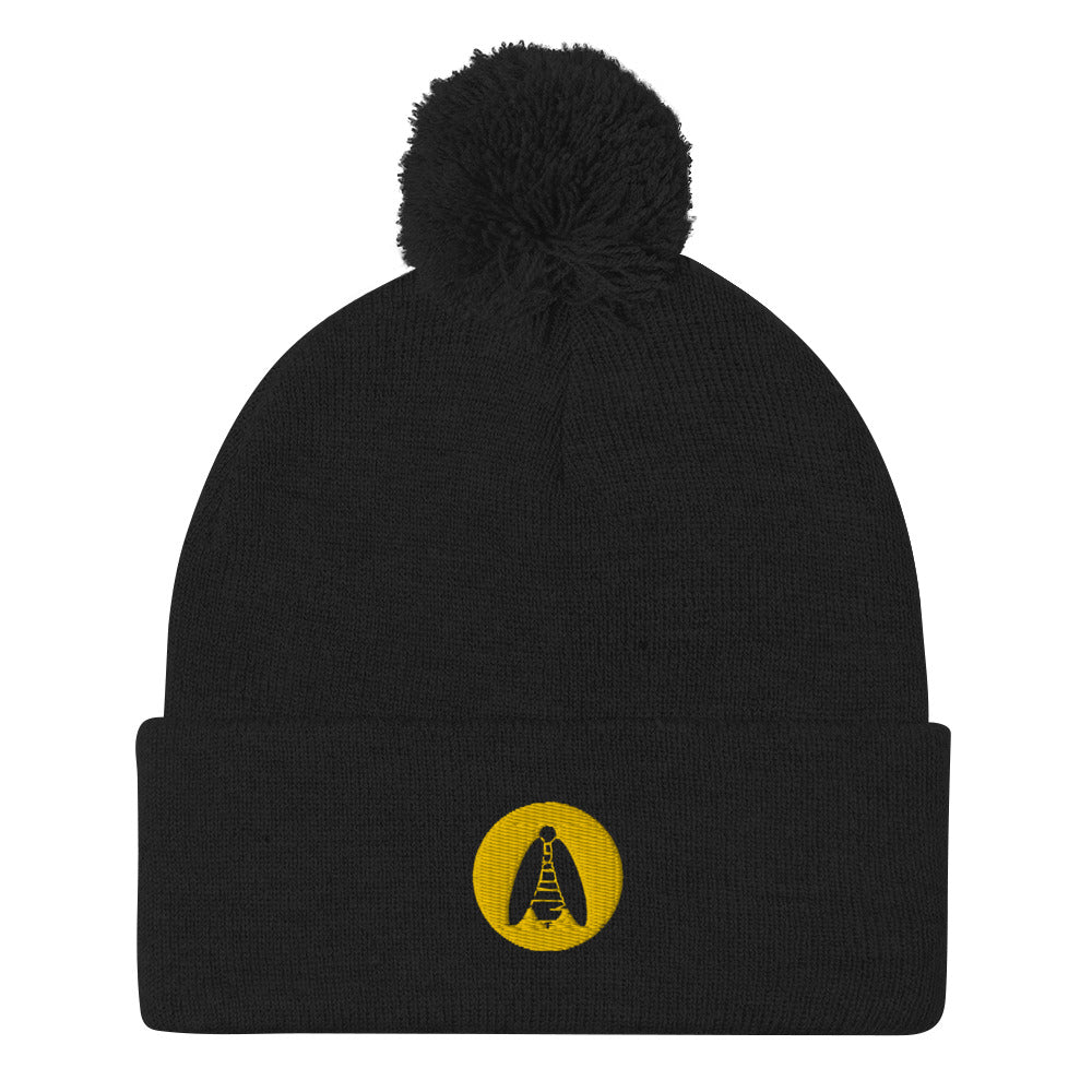 Embroidered Logo Beanie - BeeHairy