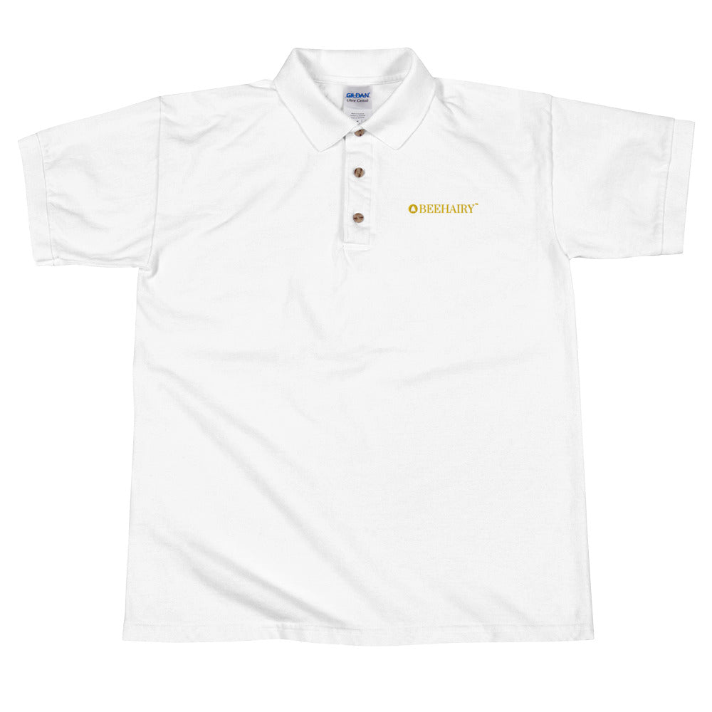 Embroidered Polo - BeeHairy