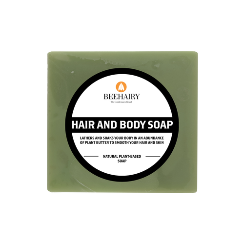 Hair & Body Soap - BeeHairy