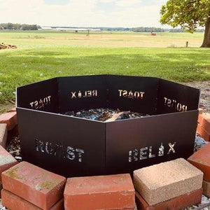 Octagon Fire Pit Ring
