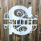 Custom Family Monogram Signs Force Designs LLC Force Designs LLC birthday, custom sign, family, family sign, fathers day, garage art, metal art, metal sign, outdoor sign, wedding