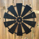 Welcome Full Windmill Signs Force Designs LLC Force Designs LLC birthday, man cave, metal art, metal sign, outdoor sign, rustic, vintage