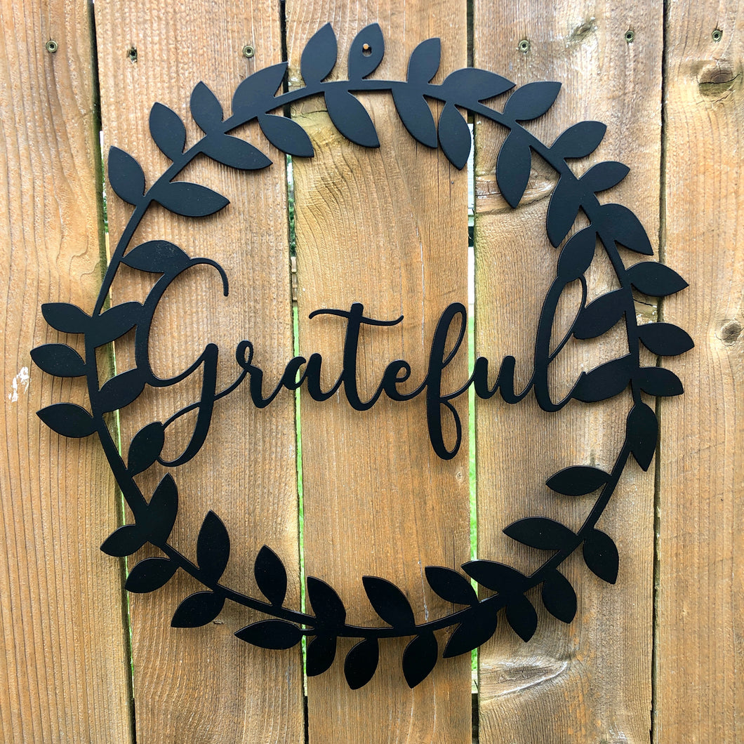 Grateful Wreath