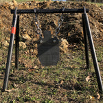 AR500 Silhouette and Target Stand Set AR500 Targets Force Designs LLC Force Designs LLC AR500, birthday, fathers day, groomsman, man cave, outdoor, shooting, sports, Steel targets, targets