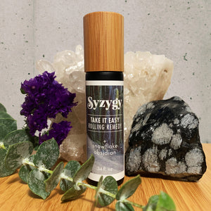 Take It Easy + Snowflake Obsidian :: Rolling Remedy