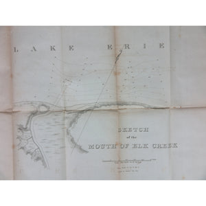 "Cass, Lewis.  ""Letter from the Secretary of War, Transmitting Reports of Col. Kearney and Major Maurice, of surveys of harbors on Lake Erie."" Washington, DC, 1834."