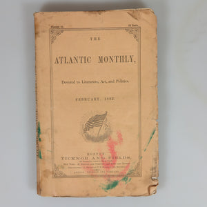 "Howe, Julia Ward. ""Battle Hymn of the Republic"" (First Publication) - Atlantic Monthly February 1862."