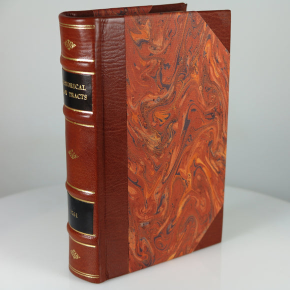 Home, Henry (Lord Kames). Historical Law-Tracts. Edinburgh, 1761. Second Edition.