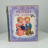 Dixon, Rachel Taft (Illus.). Prayers for Children (Little Golden Book #5; 5th Printing, July 1943).