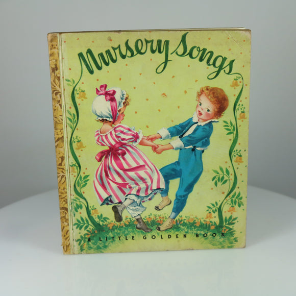 Gale, Leah & Malvern, Corinne (Illus.). Nursery Songs (Little Golden Book #7;