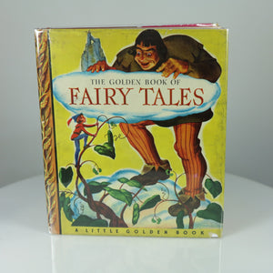Hoskins, Winfield (Illus.). The Golden Book of Fairy Tales (Little Golden Book #9, 3rd Printing in Dust Jacket).