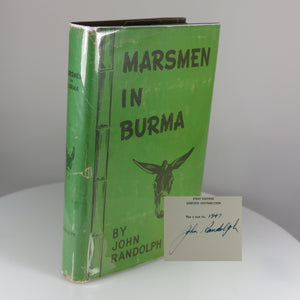 Randolph, John. Marsmen in Burma (Signed Limited Ed.) Houston, TX: 1946.