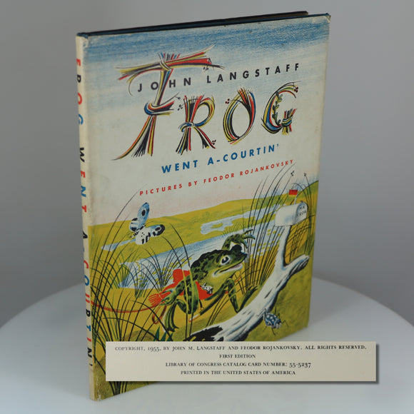 First Edition of 1956 Caldecott Medal Winner