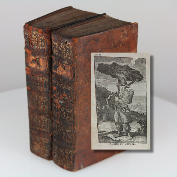 Defoe's Robinson Crusoe - Early Unrecorded French Printing