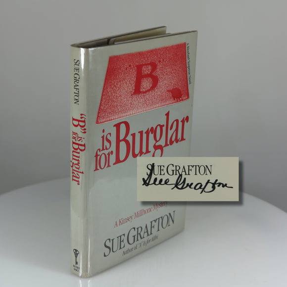 Grafton's second book – B is for Burglar – Signed Third Printing