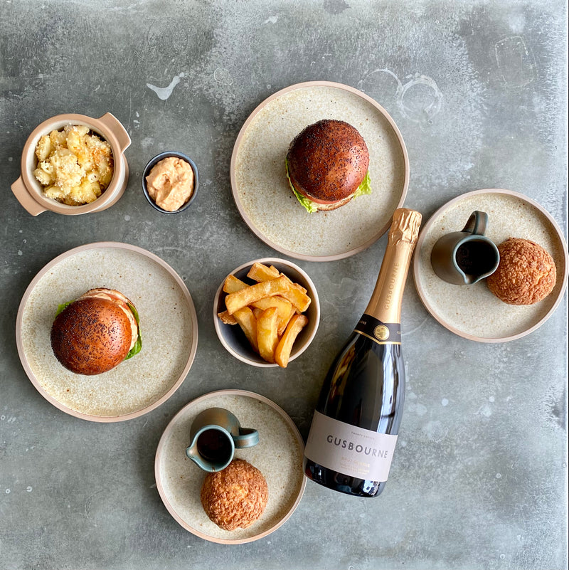 The Burger & Bubbles Box for 2 (Crockers Henley)