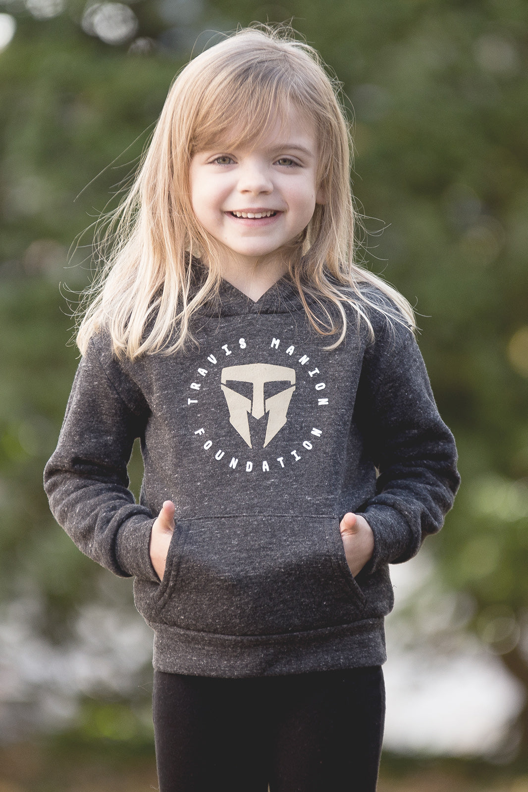 Toddler/Youth Royal Apparel Gray Hoodie
