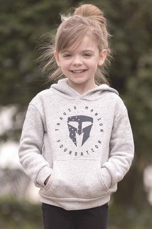 Toddler/Youth Triblend Fleece Pullover Hoodie