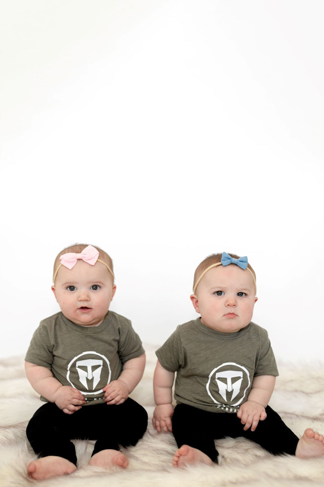 Infant Triblend Tee - Olive