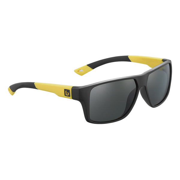Bolle BRECKEN FLOATABLE Black Yellow Matte - TNS Polarised