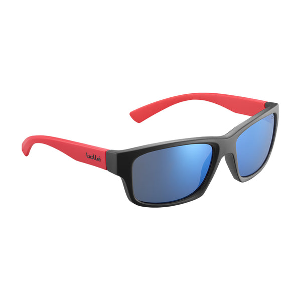 Bolle HOLMAN FLOATABLE Black Red Matte - Offshore Blue