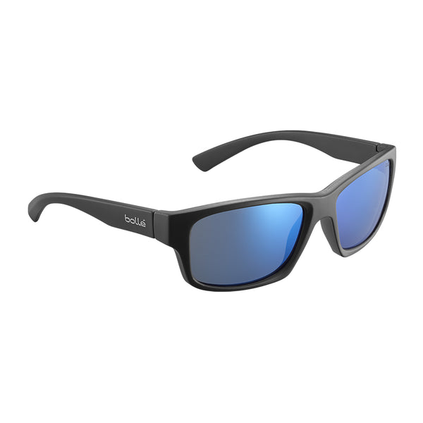 Bolle HOLMAN FLOATABLE Black Matte - Offshore Blue Polarised