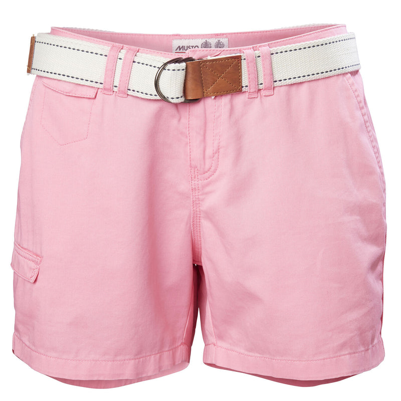 MUSTO TACK COTTON SHORT FOR WOMEN