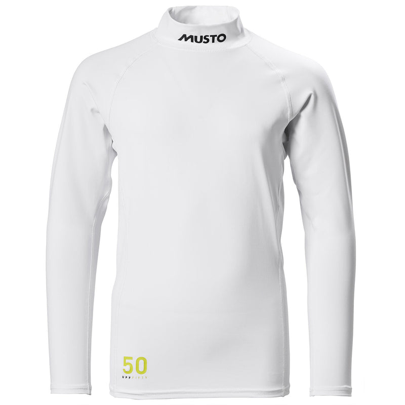 MUSTO YOUTH CHAMP SUNBLOCK LS RASH GD